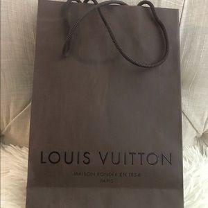 Louis Vuitton Paper Shopping Bag